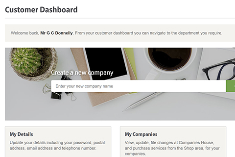 Online company manager thumbnail.