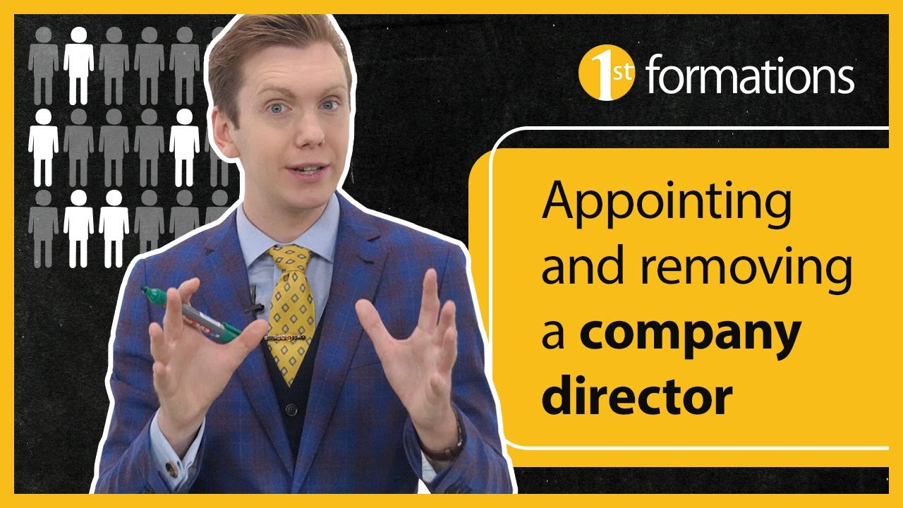 Appointing and removing a company director.