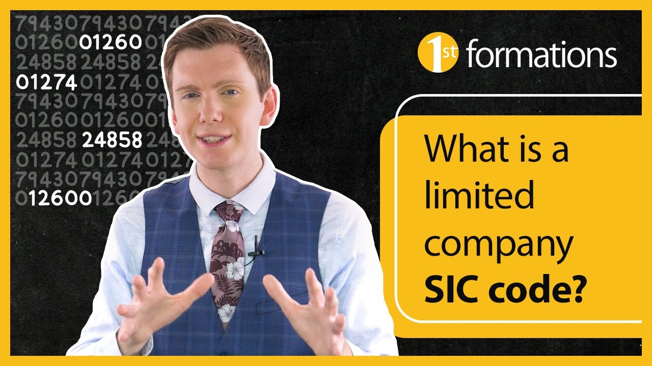 What is a limited company SIC code?
